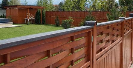 zaščita ob ograji