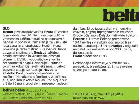 BELTON 0.75 SATURNUS SLO.XP